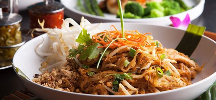 The healthiest choices at a Thai food restaurant