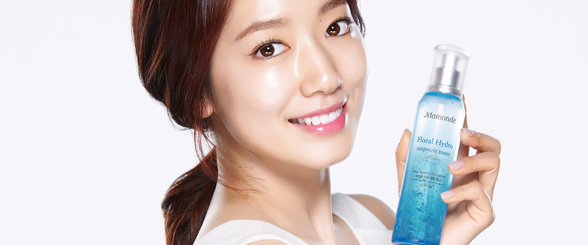 Spot Park Shin Hye at Mamonde's pop-up booth, VivoCity