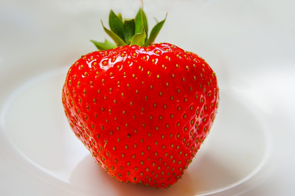 Strawberry skin benefits