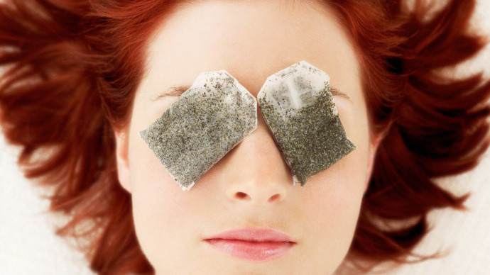 5 beauty hacks using tea bags