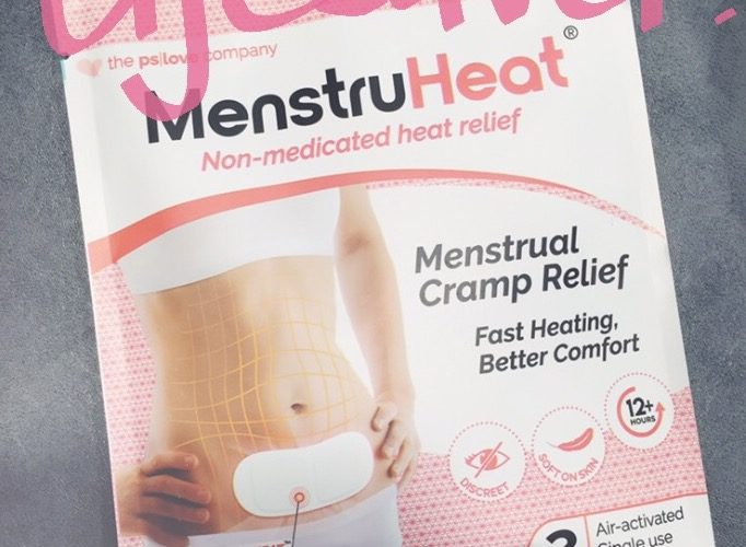 PSLove: not just pretty packages! MenstruHeat, NeckHeat, BackHeat to combat monthly period woes
