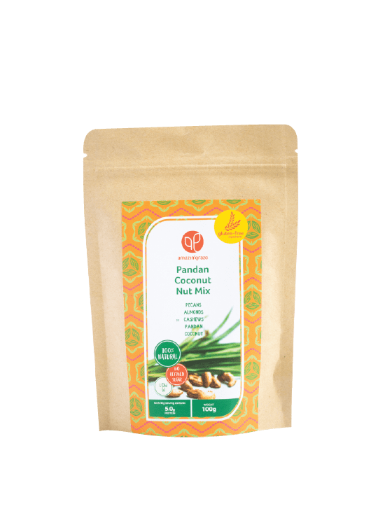 pandan coconut nut mix
