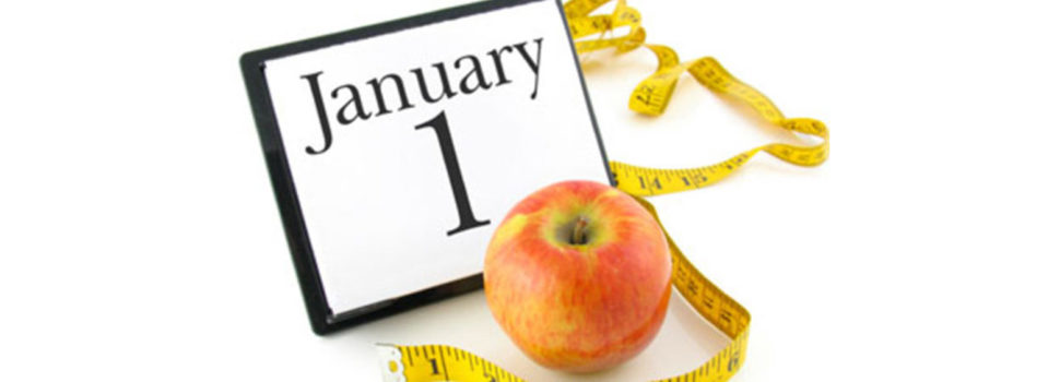 Lose weight: Your New Year's resolution