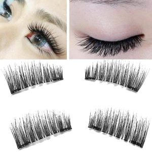 Double magnet eyelash