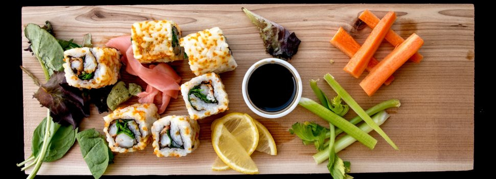 Amazing benefits of eating sushi